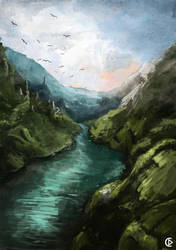 River by Danerain