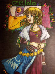 Princess Zelda by Millie-Rose13