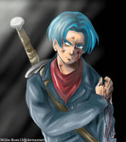 Future Trunks DB Super by Millie-Rose13
