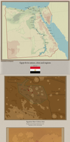 Egypt and its martian colonies in 2052 by Jockehh