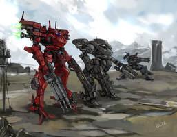 Three Machines by BlazingChaos
