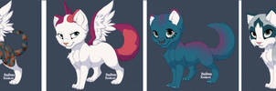 Adoptable Kittens Batch 2 (open) by DarkDragondoesFNAF24