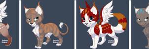 Adoptable Kittens Batch 3 by DarkDragondoesFNAF24