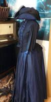 Tricorne and Victorian dress by Eisfluegel