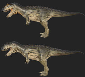 Giganotosaurus: Leech by Freeflier181