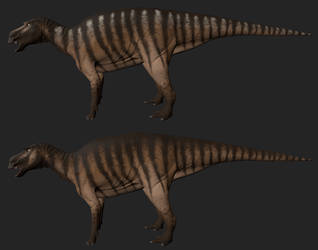 Maiasaura: Arid by Freeflier181