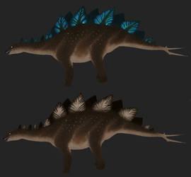 Stegosaurus: Opal by Freeflier181