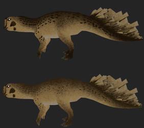Psittacosaurus: Cheetah by Freeflier181