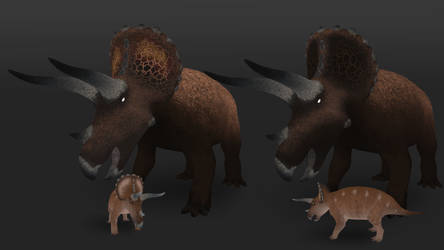 Triceratops: Bison by Freeflier181