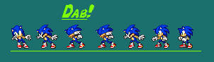 Dab on Em- Sonic Sprites V.1 by UberHawg