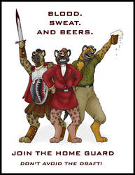 Home Guard Recruitment Poster by KDNightstar