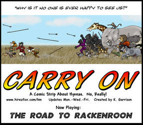 Carry On Title Page by KDNightstar