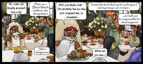 11/26a: Auntie, She Broke My Stuff! by KDNightstar