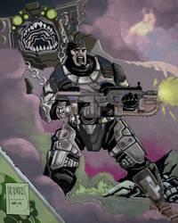 Gears of War by mytymark