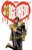 JUDGE DREDD 29 Cover by mytymark