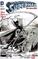 Spawn/Superman (blank cover) by mytymark