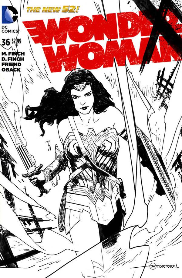 Wonder Woman by mytymark