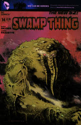 Man-Thing on a Swamp Thing by mytymark