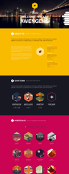 Hexagon Creative Onepage WP by wpthemes