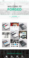 FORGED One Page Template by wpthemes