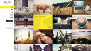 Moler - Full Screen WordPress Portfolio by wpthemes