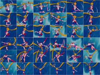 Moon Spiral Heart Attack III by SailorEnceladus