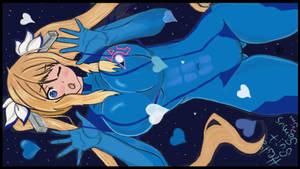 Hestia Zero Suit Samus by jozimar