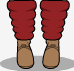 Some attempt at the Flashdance Footies from TF2. by turbolord9001