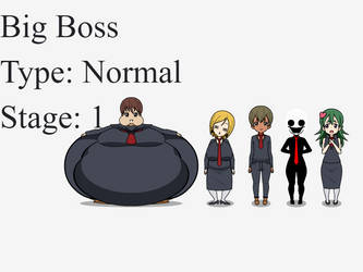 Big Boss, Lardass CEO (+Employees) by turbolord9001