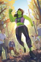 She-hulk by mikabear1