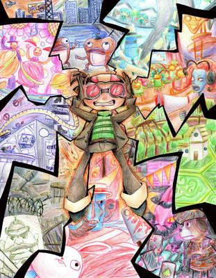 Psychonauts by nuttyjigs