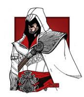 Ezio Auditore da Firenze by BenjaminsArtGallery
