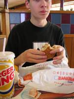 Burger Boy by sickpea