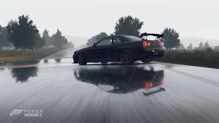 Forza Horizon 2 - Reflection by crocnocker