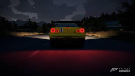 Forza Horizon 2 - Night Driving by crocnocker