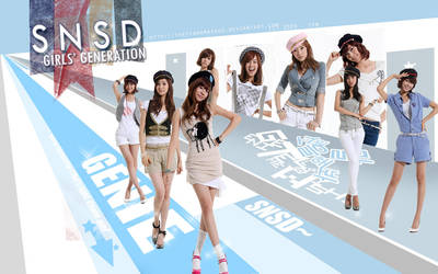 SNSD Genie by thepianomasque