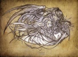 _Commission:embrace_ by SerLuxfero