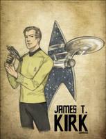 _StarTrek:CaptainKirk_ by SerLuxfero