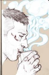 _Frank+coffee=otp_ by SerLuxfero