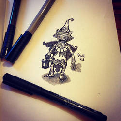 Legend Of Zelda - Skull Kid by NickMorey
