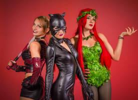 Gotham Girls by adenry