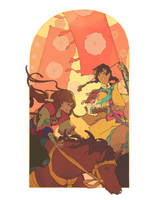 The Huntress by Yutaan