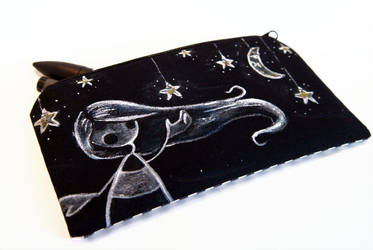 Painted pouch: Star collector by akinna