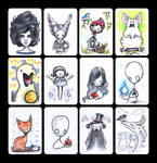 2013 - ACEO collection 1 by akinna