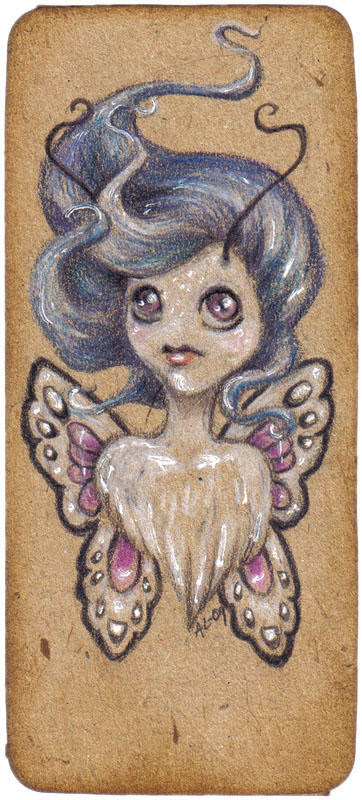 Pixie bookmark no. 12 by akinna