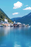 Lake of Hallstatt in Austria  .. by ST-ST