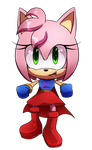 .:comm:. Power Rose Chibi by Tri-shield