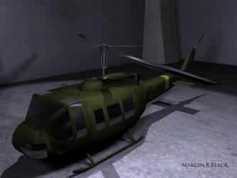 UH1-Huey - version 1 by MarcinBBlack