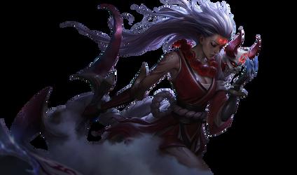 Blood Moon Diana by UberWild