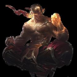 God Fist Lee Sin by UberWild
